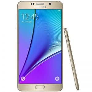 Samsung Galaxy Note 5 N920 - 32GB, 4G LTE, Gold Platinum 03