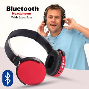 Bluetooth wireless headphone with extra bass 01