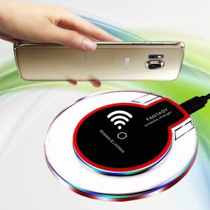 Wireless Charger Wireless Charging Compatible with Galaxy S10/S10 Plus/S10E/S9,iPhone XS MAX/XR/XS/X/8/8 Plus,10W,5W All