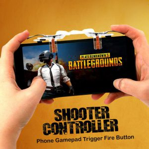 Shooter Controller, Phone Gamepad Trigger Fire Button Aim Key Shooter Controller