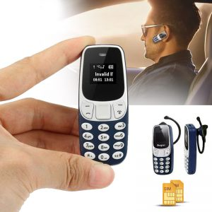 Super Small Mobile Keypad GSM Bluetooth Dual SIM