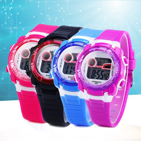 DIGITAL WATCH FOR KIDS ASSORTED COLORS