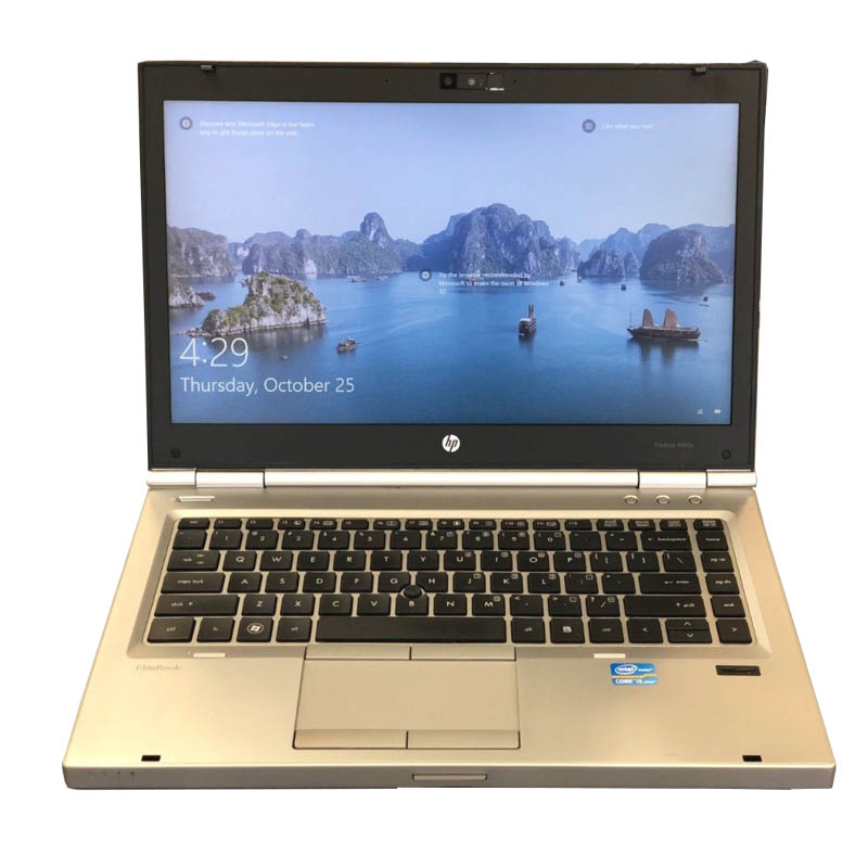 HP Elitebook 8470P Intel Core i5 8GB 128GB SSD DVD Writer Webcamera 14inch Windows 10
