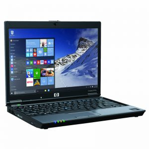 HP Compaq 2510p Intel Core 2 Duo 4GB 160GB DVD Writer Wifi Bluetooth Webcamera Windows 8 003